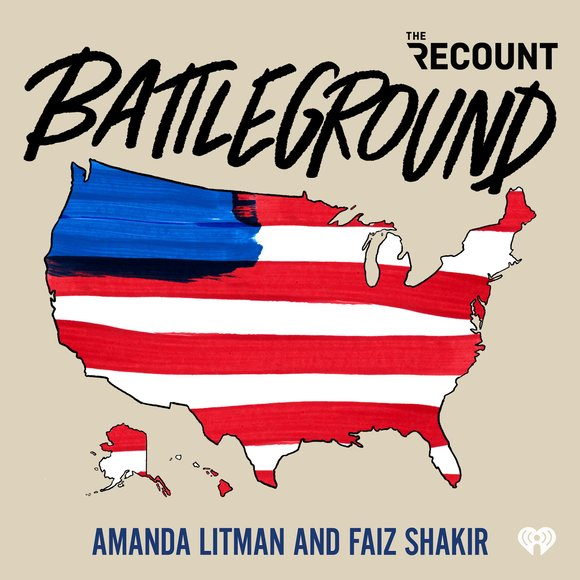 """Battleground is a podcast for people who want answers to questions about politics they didn""""t even realize they should be asking. Faiz Shakir ran Bernie Sanders' 2020 presidential campaign and Amanda Litman founded Run for Something, an organization that recruits and trains young progressives to run for state and local offices. But even after spending their entire professional careers working in politics, the hosts of Battleground still have questions about the ways our political system complicates itself — like, """"who decides what the cable news narrative will be on a given topic?"""", or """"if everyone hates political consultants, why do they always run campaigns?"""" Listen every Thursday, as Amanda and Faiz try to answer questions like these by speaking to (or debating with) some of the most knowledgeable people in politics."""