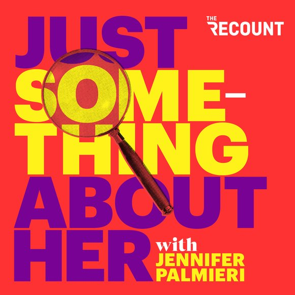 """""""Just Something About Her with Jennifer Palmieri"""" is hosted by the former communications director for the Obama White House and Hillary Clinton's 2016 presidential campaign. Palmieri explores why — after decades of making steady progress — women find themselves banging up against the same glass ceilings. The show features interviews with powerful women from business, politics, the arts and journalism to learn how they found a way to break through and create their own path to success."""