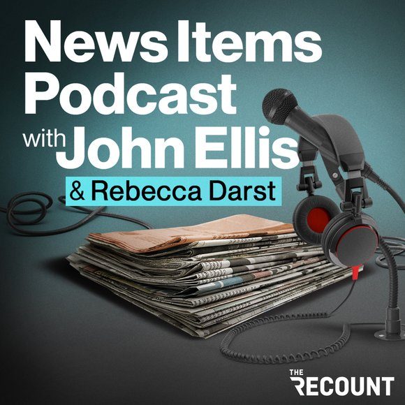"""Ninety percent of the news out there tells you nothing about where the world is going — ten percent of it tells you everything. Every afternoon on the News Items Podcast with John Ellis, John and Rebecca Darst focus on that ten percent — news that's interesting, important or both. The podcast is based on John Ellis' News Items, an email newsletter that goes out to organizations including the Council on Foreign Relations, Samsung Next, and the Wall Street Journal. Tune in every Monday through Thursday afternoon to hear decades of journalistic experience packed into 20 or so minutes of insight, plus guest interviews on finance, U.S. politics, foreign affairs, science and technology. Listeners of the News Items Podcast with John Ellis get a special discount on a subscription to the News Items newsletter. <a target=""""_blank"""" rel=""""noreferrer"""" href=""""https://newsitems.substack.com/publish/offers/b15b3f1a"""">Click here to subscribe</a>."""