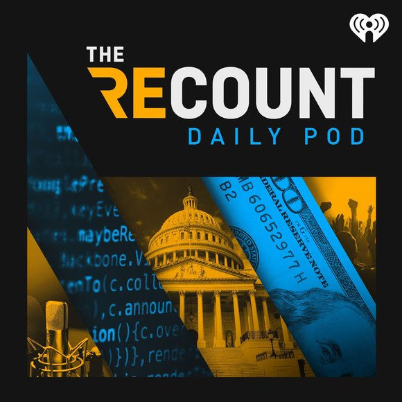 Just like The Recount is the can't-miss news source on Twitter, The Recount Daily Pod is the morning news source you'll want to plug into every day. Hosted by journalist Reena Ninan, each episode breaks down important information in politics, tech, business and culture. Ninan interviews journalists who break news and give listeners the crucial context necessary to understand why these stories are important.