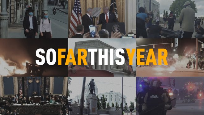 This year has felt like a decade. Now that 2020 is at the midway point, take a look back through the first six wild months.