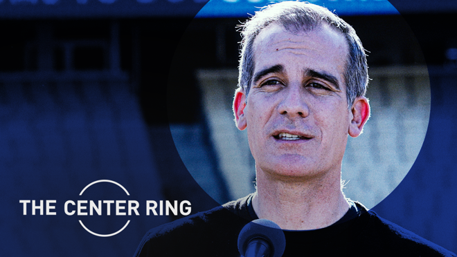 From zero communication with Trump to working directly with Biden on a COVID plan, Eric Garcetti discusses the obstacles of leading America's second largest city through the pandemic.