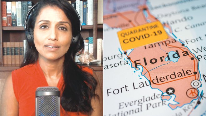 Rep. Charlie Crist (D-FL) is on the political frontlines of the US fight against the coronavirus. The congressman joins The Recount Daily Pod host and former Floridian Reena Ninan to talk about the Florida Covid surge, combating climate change, and challenging Republican Governor Ron DeSantis.