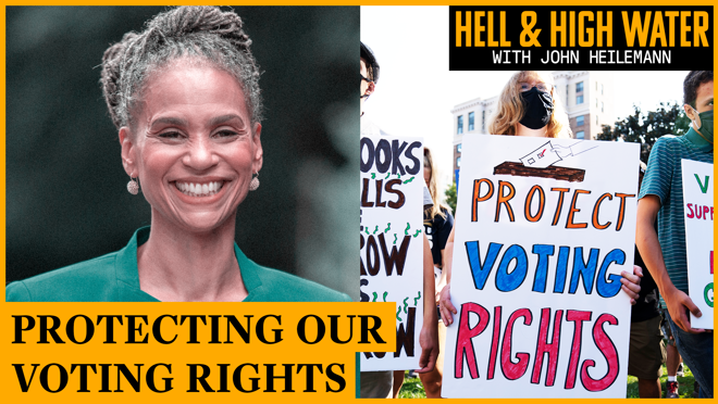 On this week's Hell & High Water with John Heilemann, former NYC mayoral candidate Maya Wiley weighs in on the importance of everyone coming together to work towards common goals despite having different perspectives.