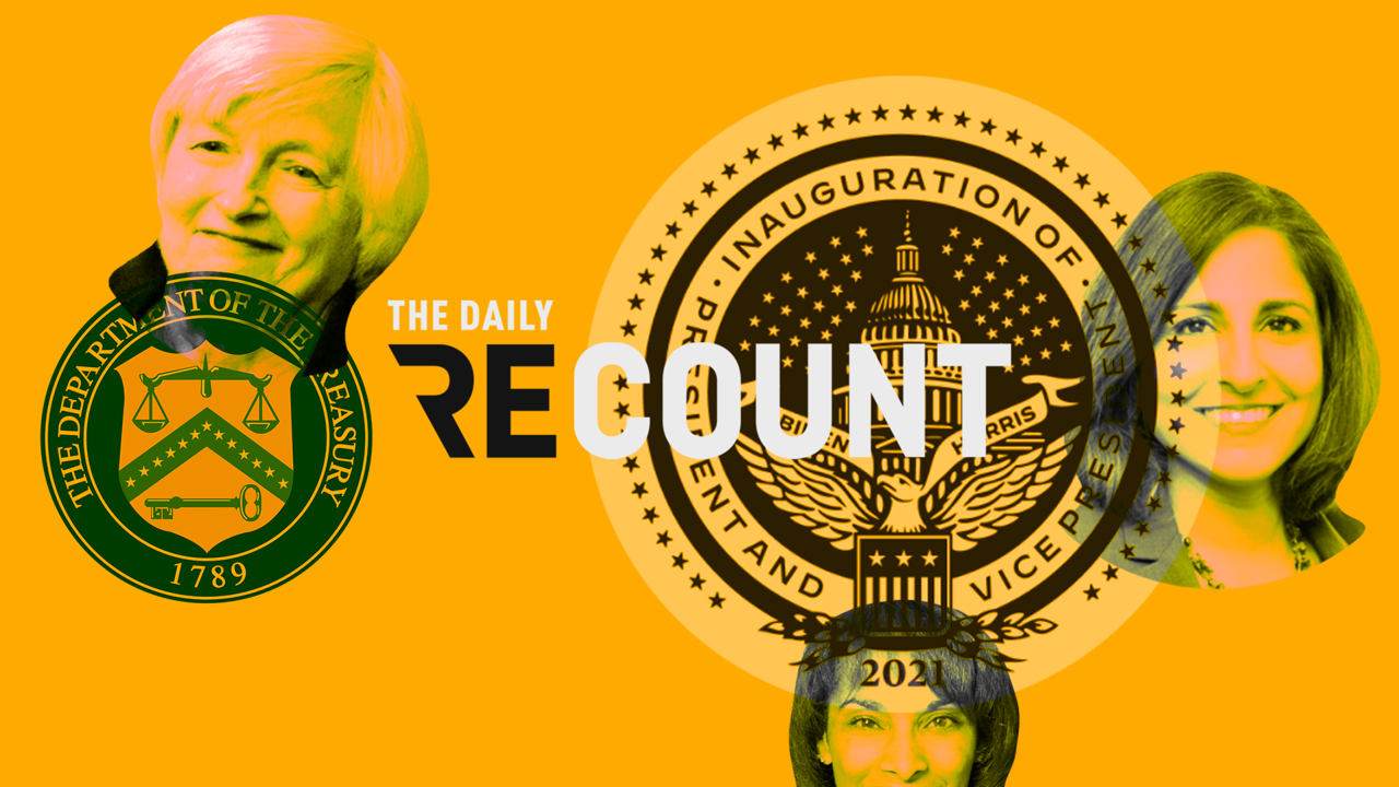 The Daily Recount - US Politics - cover