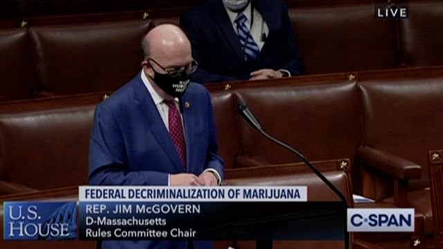 Rep. McGovern (D-MA) on Minority Leader McCarthy objecting to MORE Act, which would federally decriminalize marijuana.