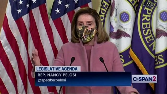 Speaker Pelosi says there will be prosecution for Congress members involved in the Capitol insurrection.