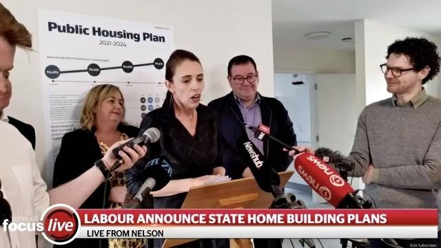 """New Zealand Prime Minister Ardern says she hopes for a """"more settled period"""" following Biden and Harris's inauguration."""