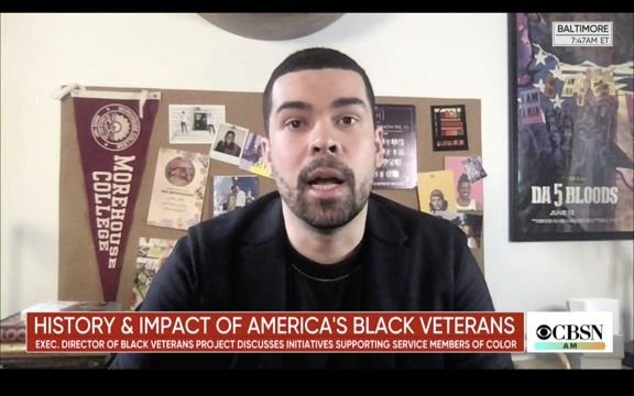 """Black Veterans Project Co-Founder Richard Brookshire: Military needs """"honest reckoning"""" over racism in its ranks."""