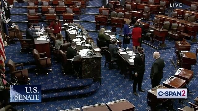 Senate confirms former Michigan Governor Jennifer Granholm as Secretary of Energy in a 64-35 vote.
