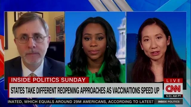 "Dr. Leana Wen on why CDC needs to put out guidance for fully vaccinated people ASAP: ""In the absence of information..."""