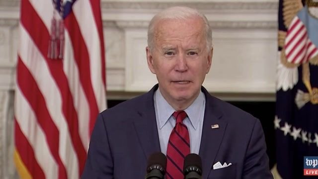 "Biden on CO shooting: ""I hate to even say it because we're saying it so often ... our hearts go out for the survivors."""