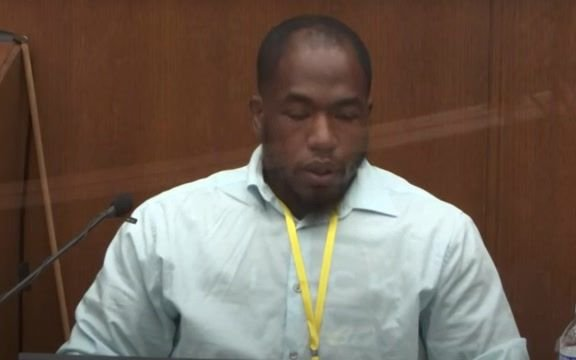 Chauvin trial witness Donald Williams tears up listening to the 911 call he placed after seeing George Floyd's death.