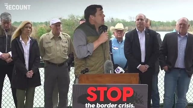 A congressional delegation of Republicans at the U.S.-Mexico border is experiencing mic/audio glitches.