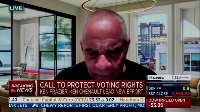 """Fmr AmEx CEO Ken Chenault calls on corporations to call out discriminatory voting laws: """"There can be no middle ground."""""""