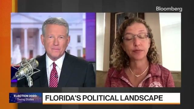 """Rep. Debbie Wasserman Schultz says """"Floridians are voting like gangbusters,"""" particularly by mail."""