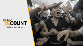 Crackdown on Hong Kong Protests \ Epstein Investigations Continue \ Dems Press McConnell on Gun Safety \ Les Mis Rings Out