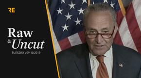 Senate Minority Leader Chuck Schumer (D-NY) urges the passage of the Bipartisan Background Checks Act