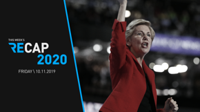 Elizabeth Warren pulls ahead in polls, but as she learned this week, her frontrunner status bears a lot of baggage — something she has carried with ease thus far