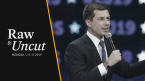 Mayor Pete Buttigieg (D-IN) holds a Veterans Day event in Rochester N.H., where he addresses his plan to keep America's promise to our veterans