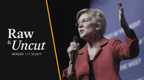 Senator Elizabeth Warren (D-MA) discusses affordable housing and tenants' rights bills at the Black Community Summit in Las Vegas