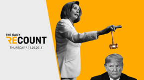 Sharpen your colored pencils, folks — the House is drawing up official articles of impeachment and McConnell is at the ready. Biden capitalizes on Trump's NATO summit embarrassment. The SNAP food stamp program is under attack, just in time for Christmas. Plus, remind us to never incite the wrath of Pelosi.