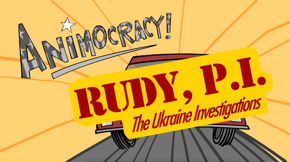 Rudy Giuliani: mayor, candidate, cyber probe, lobbyist, lawyer, and self-appointed private investigator. Is there any job he can do? Watch this week's Animocracy and decide for yourself.