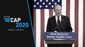 Picture this: a contested 2020 Democratic National Convention. It could be in the cards if you consider the patterns of Michael Bloomberg's record-setting campaign spending. Understand the all-out ad-blitz strategy put into practice by the two billionaire Democratic candidates in this week's Recap 2020.