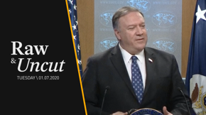Secretary of State Mike Pompeo attempts to justify the recent airstrike against Iran's top commander Qassem Soleimani