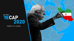 In the wake of General Soleimani's death, Dems have spent the first week of 2020 seeking to establish their foreign policy bona fides. And with the new year comes a new frontrunner — understand Bernie's boomlet in an all-new Recap 2020.