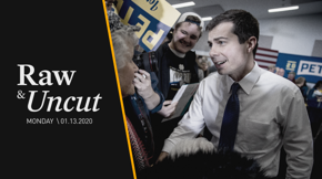 Former Mayor Pete Buttigieg responds to a question regarding transparency on donors and the infamous wine cave