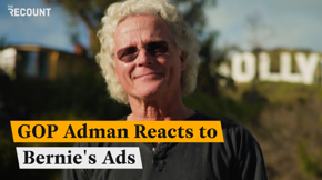 The Republican adman behind some of the GOP's most memorable ad campaigns has a specific metric for judging the success of political ads. Watch to see how Bernie Sanders ads score.