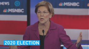 Warren came with her knives sharpened at the ninth democratic debate.