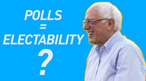 Bernie says he's electable against Trump. His opponents disagree. But what do the polls say?