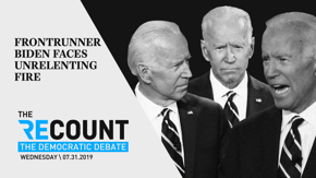 The expectation coming into last night's debate was that Joe Biden would face heavy fire—and he did, from all directions. Watch our highlight reel to see how he held up.