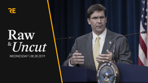 Mark Esper holds first official news conference as Secretary of Defense