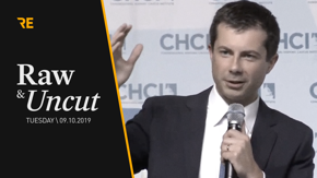 South Bend Mayor Pete Buttigieg discusses college affordability at the Congressional Hispanic Caucus Institute