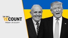 Trump's Ukraine Phone Call \ Hill Split on Ukraine Scandal \ Global Climate Strike \ Kicker: Bye de Blasio