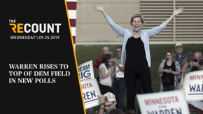 Several new polls — the Quinnipiac University poll and a New Hampshire poll — show Elizabeth Warren has risen to the top of the Democratic pack