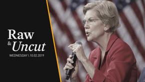 Sen. Elizabeth Warren (D-MA) addresses gun violence at a gun safety forum in Las Vegas, NV