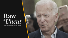"""Former VP Joe Biden calls on Trump to be impeached at NH town hall: """"We can't let him get away with it"""""""