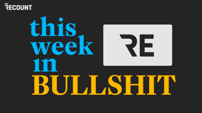 On our first episode of This Week in Bullshit, we've got a conspiracy theory from Ron Johnson, a stand-up gig from Donald Trump, and a gobsmacking letter from the White House