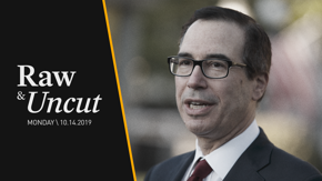 US Treasury Secretary Steve Mnuchin says that the US and China are still in the process of negotiating terms of a trade deal
