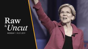 "Sen. Elizabeth Warren (D-MA) speaks at Iowa high school about her ""historic plan"" for an $800 billion investment in public schools"