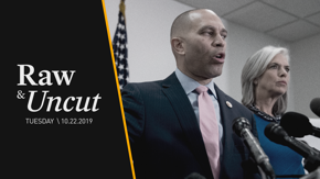 House Dem. Caucus Chair Hakeem Jeffries (D-NY) and Vice-Chair Katherine Clarke (D-MA) call on Trump to apologize for comparing impeachment to lynching