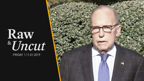 White House economic adviser Larry Kudlow claims that investors see the impeachment effort as disruptive to the economy