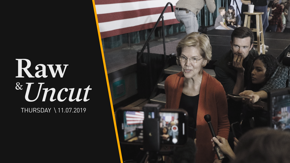 """Senator Elizabeth Warren (D-MA) emphasizes her Medicare For All plan will benefit """"hardworking families"""" during an interview in Greensboro, NC"""