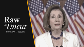 Speaker Nancy Pelosi (D-CA) announces her instructions to the House Judiciary Committee to draft articles of impeachment against President Trump