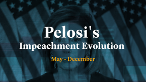 Watch Speaker Pelosi's nuanced but steady evolution on impeaching the president.