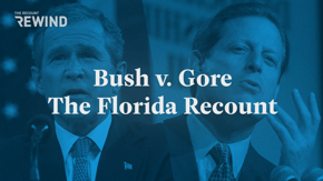 Nineteen years ago this week, the Florida recount ended. The presidential election was settled when the U.S. Supreme Court effectively ruled in favor of George W. Bush. Watch how history was made in this week's episode of Rewind.